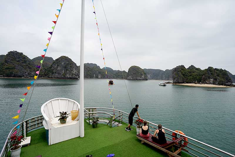 Cat Ba Sisters Cruises Lan Ha Bay 3 Days 2 Nights