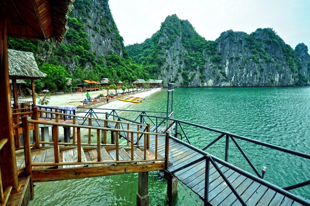 Nam Cat Island in Lan Ha Bay