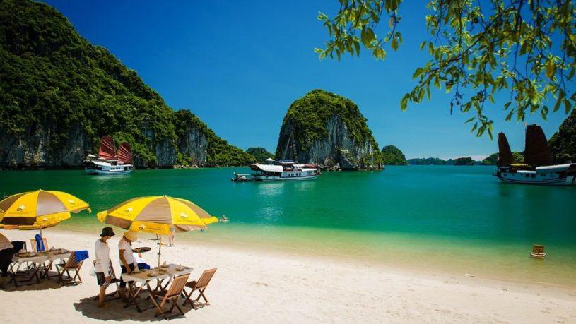 Ba Trai Dao Islet in Lan Ha Bay