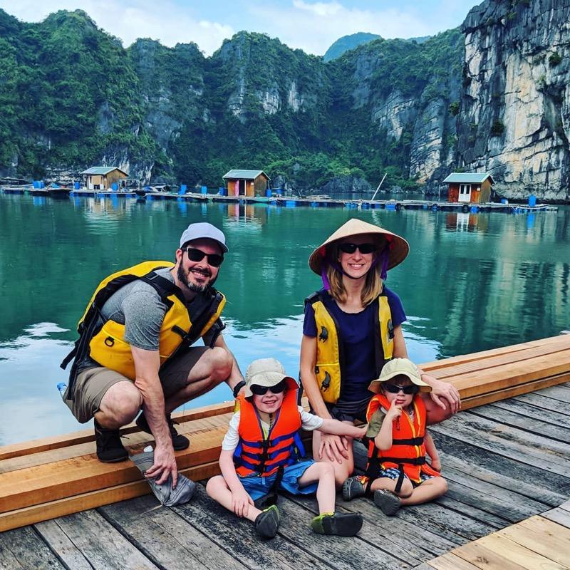 Bai Tu Long Bay in Vietnam