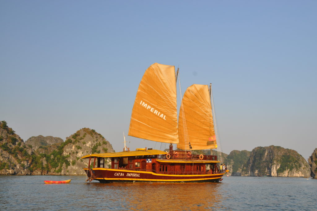 Cat Ba Sailing Junk Lan Ha Bay 2 Days 1 Night