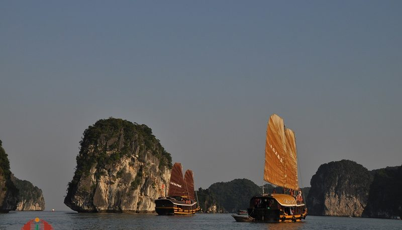 Catba Sailing Junk Lan Ha Bay
