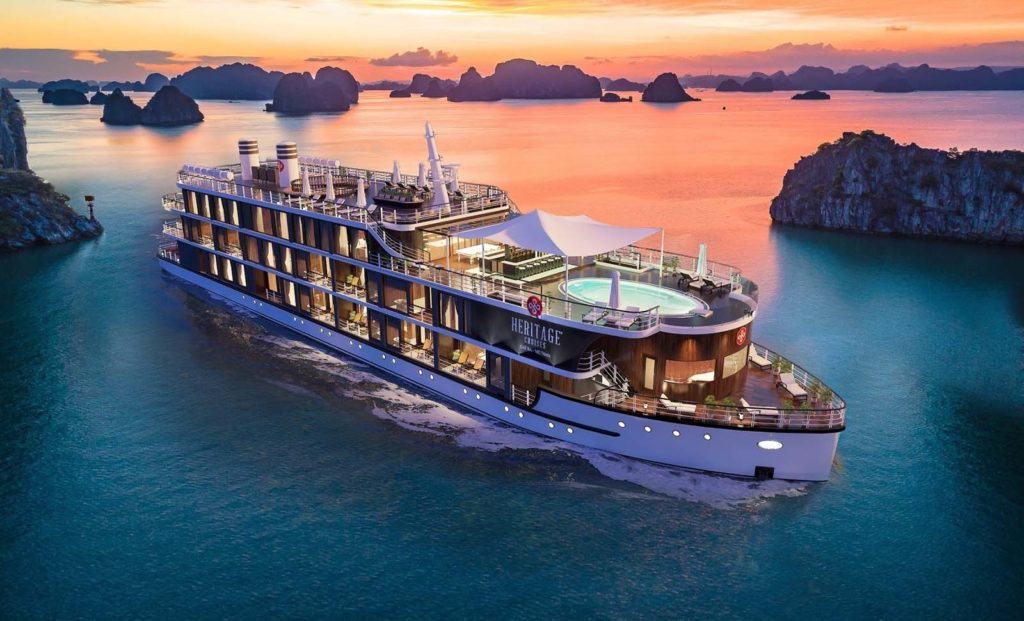 Heritage Cruises in Lan Ha Bay
