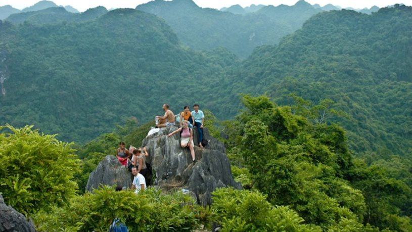 Kim Giao Forest in Cat Ba Island
