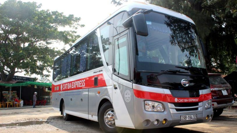 Lan Ha Bay from Hanoi by bus