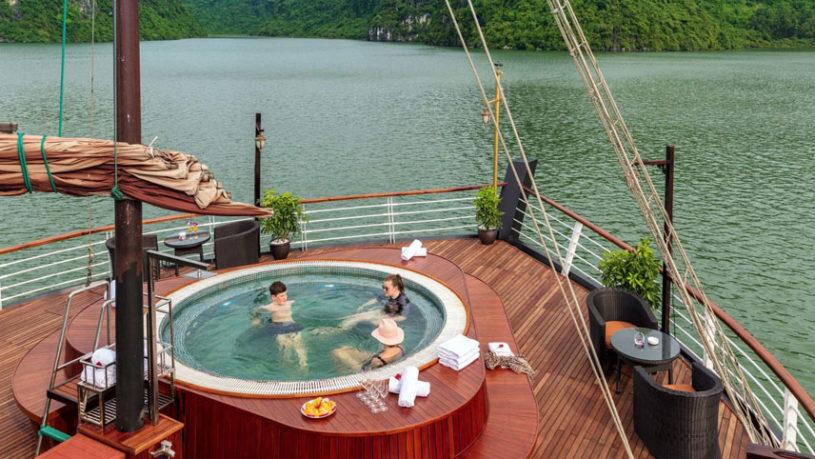Orchid Cruise in Lan Ha Bay Vietnam