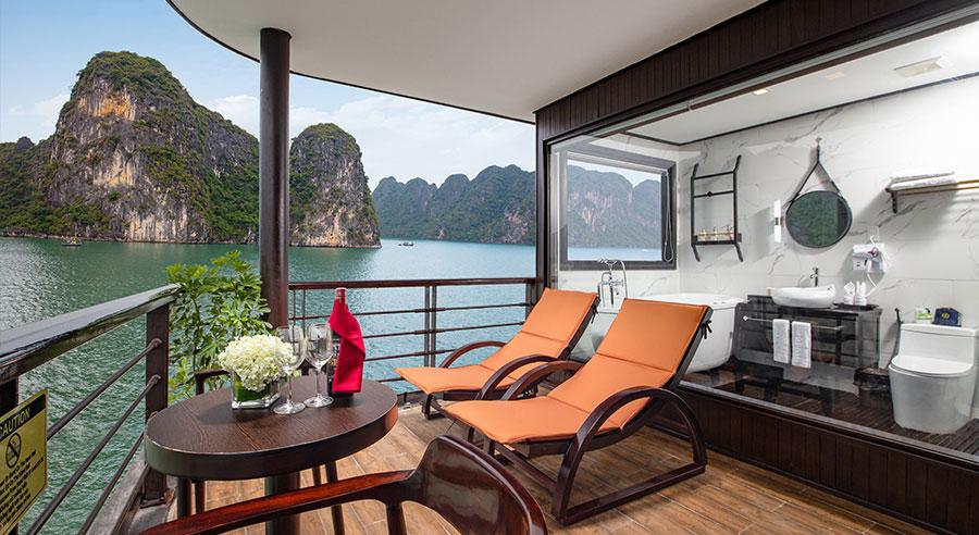 Peony Cruises Lan Ha Bay 2 Days 1 Night
