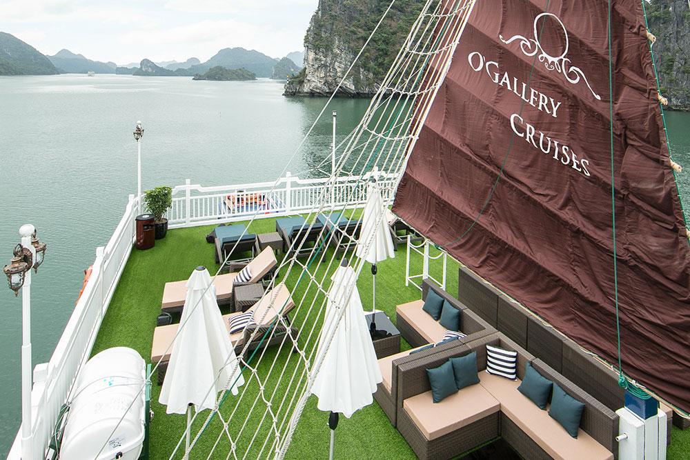 O'Gallery Lotus Cruise Lan Ha Bay 2 Days 1 Night