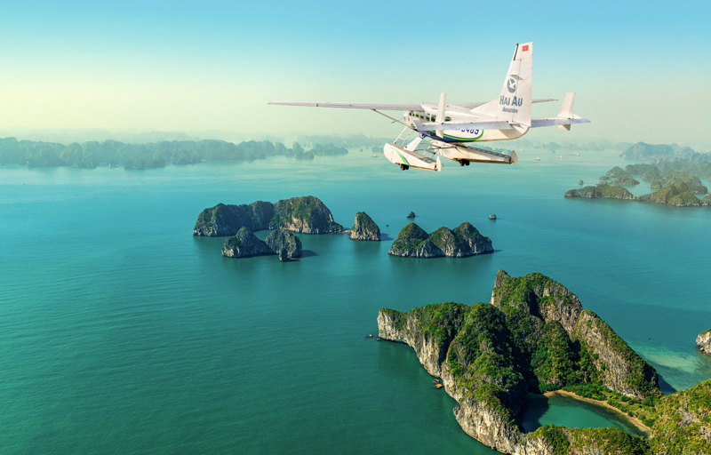 Book Halong Bay Seaplane Tour
