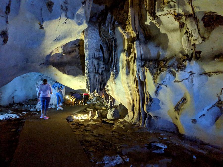 Trung Trang Cave in Cat Ba National Park