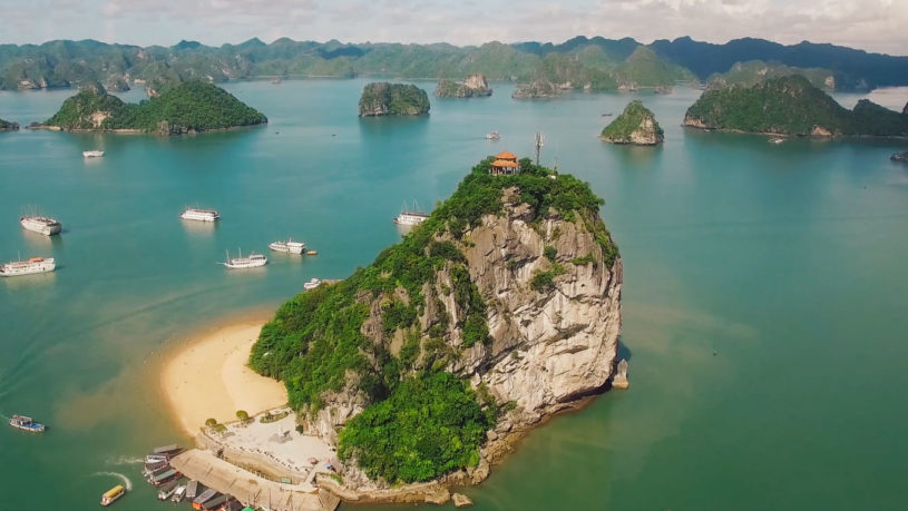 Ti Top Island in Halong Bay