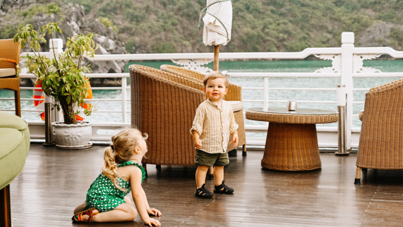 Things to do in Ha Long Bay with kids