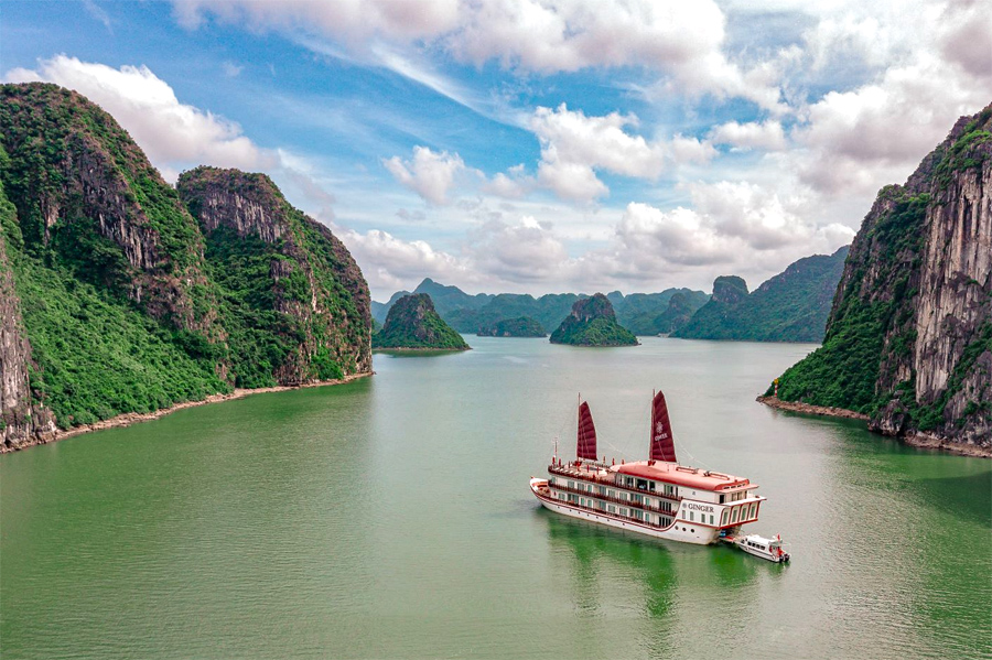 Luxury Ginger Cruise in Lan Ha Bay Cruise